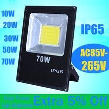 led Flood light 10W 20W 30W 50W AC85-265V Waterproof Ip65 Floodlight Spotlight Wall Reflector Refletor Led Outdoor Lighting