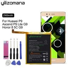 YILIZOMANA Genuine Spare Phone Battery HB366481ECW For Huawei P9/P9 Lite/ G9 /Honor 7 Lite GT3/Honor 8 Lite/Honor 5C 2900mAh все цены