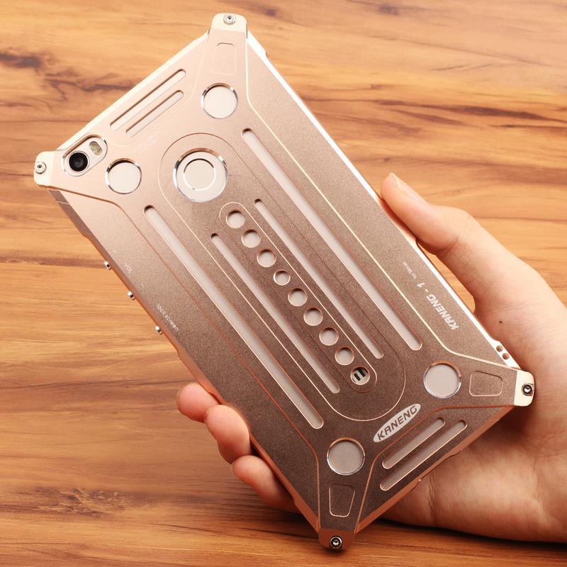 bilder für Original Für Xiaomi Mi max fall rüstung aluminium starke metall shiny fall für XIAOMI MAX fall luxus metall schützen telefon abdeckung