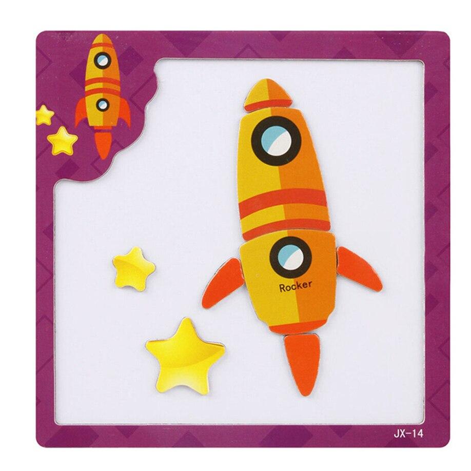 MUQGEW Gift Brain Teaser Children Tangram Jigsaw Board