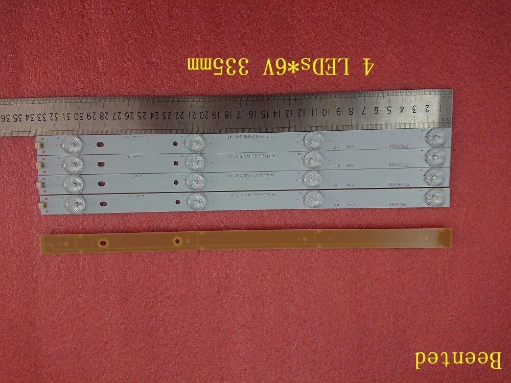 Beented Новый 30 шт. * 4 светодиода * 6 В 335 мм * 16 мм Светодиодная лампа подсветки полосы RF-AJ365B32-0401S для 32 дюймов 40 дюймов 42 дюймов TV