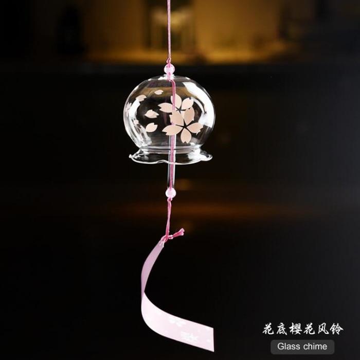 Grote Verpakking 7 cm * 6 cm Glas Windchime Top Populaire Vriend Gift Windchime Mooie Opknoping Thuis Decoratieve Glas Bell - 2