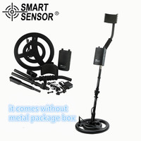 Silver And Gold Underground Metal Detector Gold Digger Treasure Hunter Detection Depth 2 5M Professional Metal
