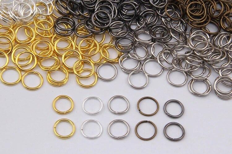 Handmade Link Open Jump Rings Loop Connector Jewelry Findings DIY Accessories