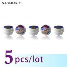 مجموعة لصق الرموش الصناعية من NAGARAKU لإزالة الغراء المغناطيسي 10 جرام 5 قطعة لإزالة الصمغ السريع الآمن للرموش