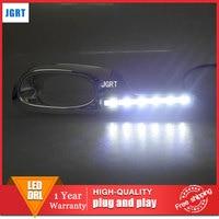 Car Styling 2011 2013 For Honda Fit LED DRL For VEZEL Led Fog Lamps Daytime Running