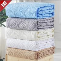 Cotton All Inclusive Cover Detachable Zipper Anti Mite Mattress Bed Padded Quilted Bed Mattress Cover Non Slip Dust Soft Pad