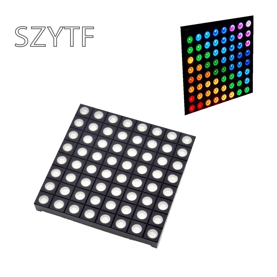 10pcs Diymore Full Color 8x8 8*8 Mini Dot Matrix Digital Tube