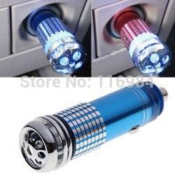 Очиститель воздуха 12 В Мини Авто Свежий Воздух Ионный Очиститель воздуха озоновый ионизатор очиститель
