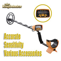 New Arrivals Professional Detecting Equipment MD 6250 Underground Metal Detector Upgraded MD 6150 Yellow