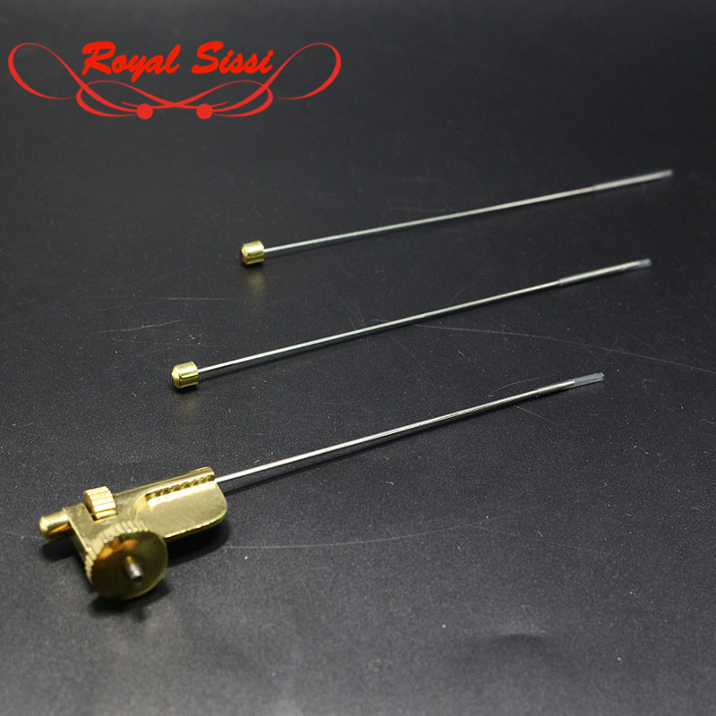 75mm Half Hitch Brass Fly Tying Materials Kit Tool for Fly Tying
