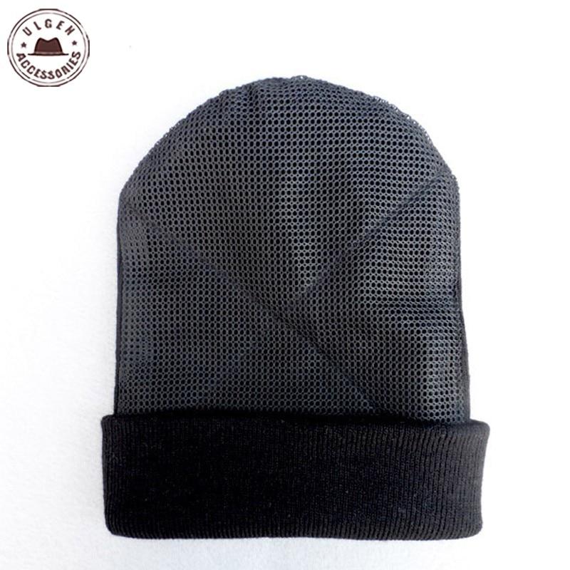 جديد BBoy الهيب هوب رقص قبعة الرجال شبكة قبعة بيني الحارة الدورية بيني قبعة سوداء للرجال