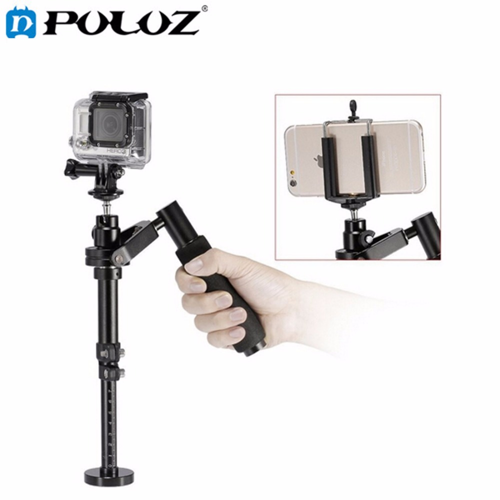 PULUZ S100 Handheld Camera Stabilizer for Steadicam for Iphone 6 / 7 plus Smartphone/ GoPro HERO5 Session / HERO 5 / 4