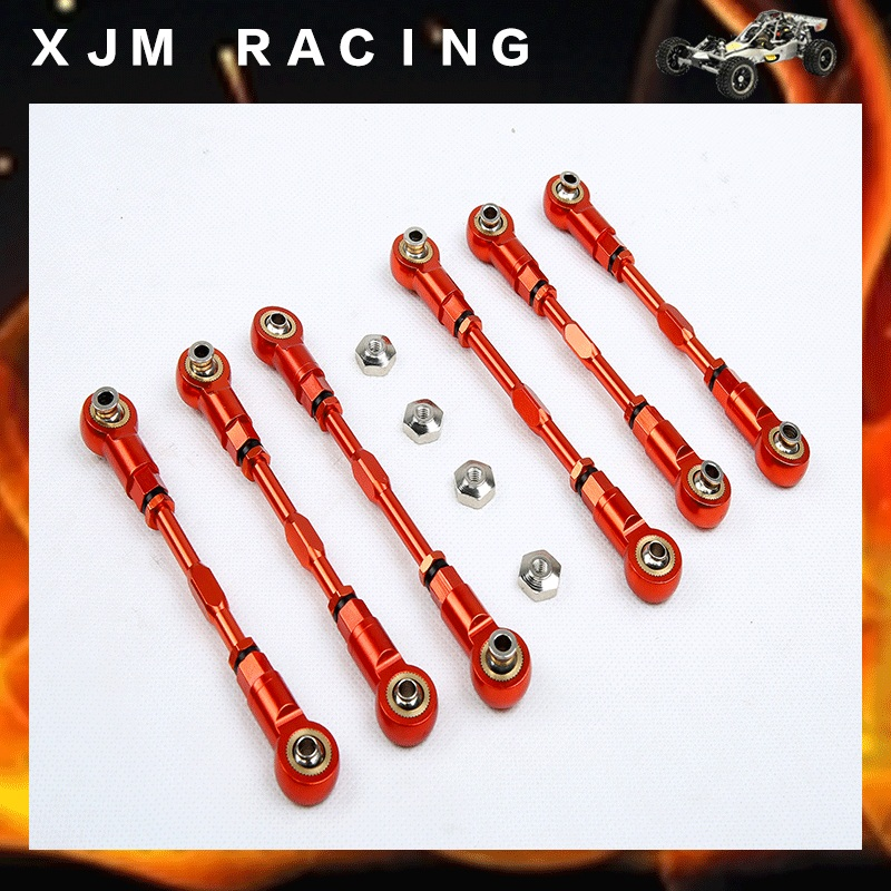 LT CNC Metal rod for 1/5 rc car hpi rovan km baja losi 5ive-T parts piston kit 36mm for hpi baja km cy sikk king chung yang ddm losi rovan zenoah g290rc 29cc 1 5 1 5 r c 5b 5t 5sc rc ring pin clip