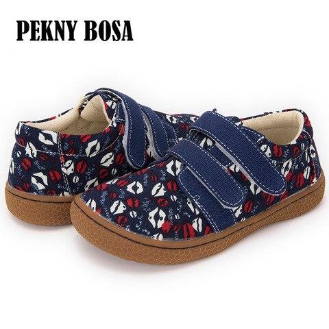 pekny bosa marca sapatas de lona para criancas beijo personalizado impresso meninas sapatos casuais menino