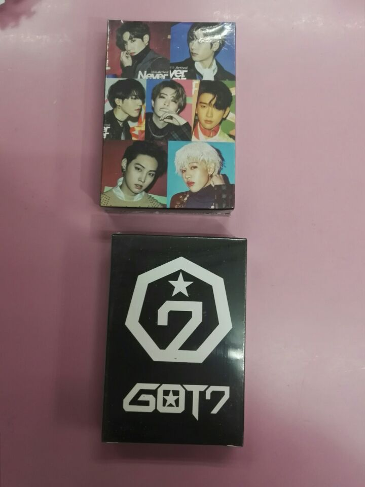 Kpop Got7 Poker Playing Cards Jackson Jb Jinyoung Mark Youngjae Bambam Yugyeom Fanart Pictures Art Book Gifts Collection New Costume Props Costumes & Accessories