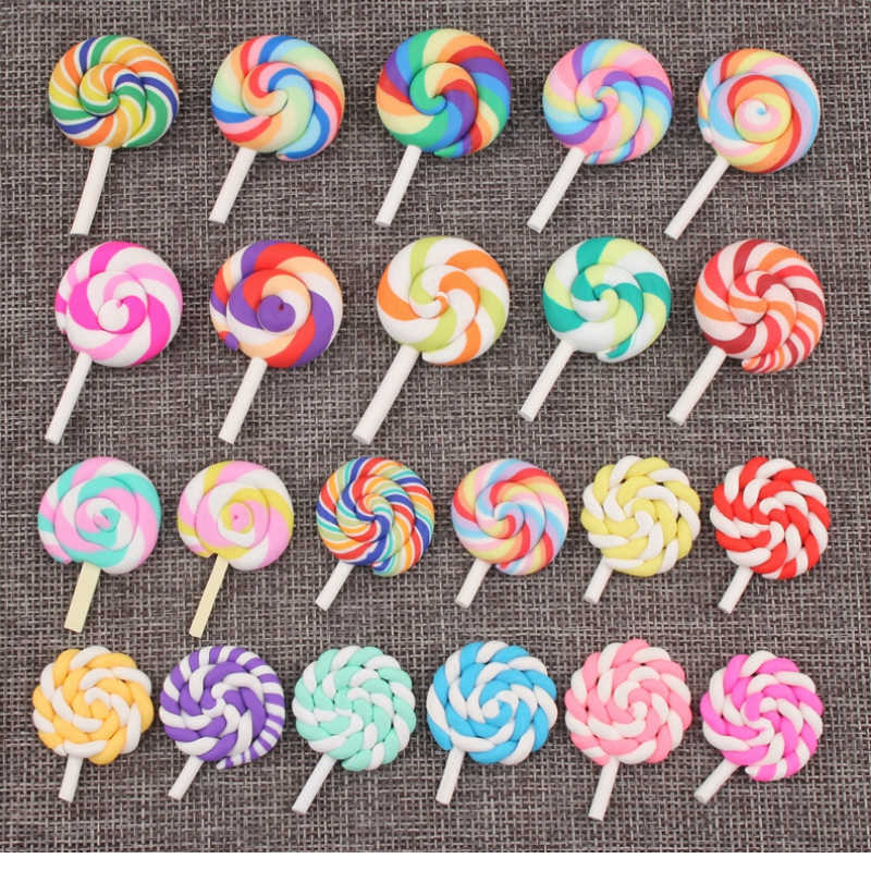 CCINEE Lollipop Candy Resin Multiple Styles Diy Resin Accessories DIY Craft Supplies