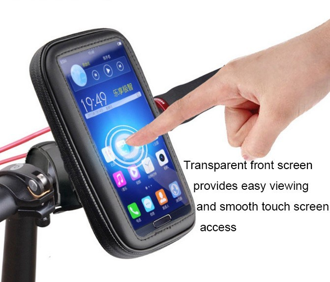 High-Quality-Bicycle-Motor-Bike-Motorcycle-Handle-Bar-Holder-Waterproof-Case-Bag-EVA-Foam-pad-5
