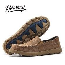 Hemmyi Новинка 2017 года поступление; Мужская парусиновая обувь Slip-On Zapatillas Hombre на плоской подошве Мужская обувь Tenis masculino adulto Chaussure Homme