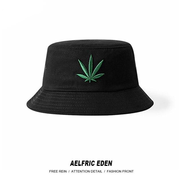 Aelfric Eden Gli Uomini del Nuovo di Foglia di Canapa di Modo Della Protezione  di Hip Hop Cappello ... 51b57bf4ab60