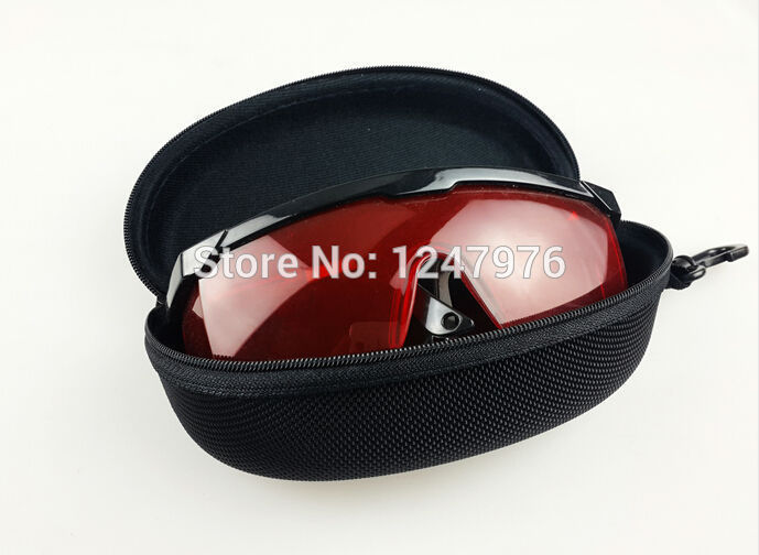 Nemokamas pristatymas Nauja 200-540nm akių apsaugos akiniai Žalioji mėlyna lazerio saugos akiniai Nemokamas pristatymas