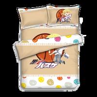 Japanese Anime Kuroko No Basketball Bed sheets Bedding Sheet Bedding Sets Bedcover Quilt Cover Pillow Case 4PCS