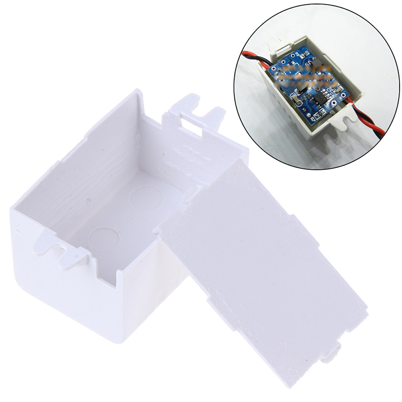 1pc Waterproof Plastic font b Electronic b font Enclosure Project Box Black Connector Wire Junction Boxes