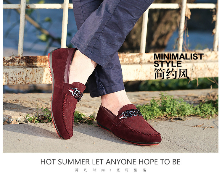 Summer Shoes Men Flats Slip On Male Loafers Driving Moccasins Homme Men Casual Shoes Fashion Dress Wedding Footwear