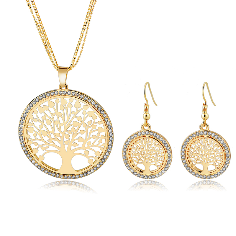 6 Designs Tree Of Life Jewelry Set*