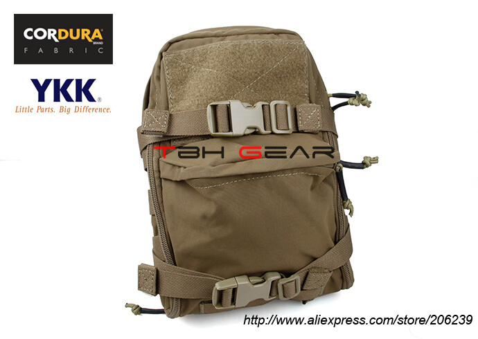 TMC Mini Tactical Hydration Bag Cordura Coyote Brown JPC Hydration Pack+Free shipping(SKU12050146)