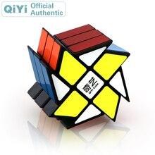 QiYi Windmill 3x3x3 Magic Cube MoFangGe 3x3 Cubo Magico Professional Speed Neo Puzzle Kostka Antistress Fidget Toys