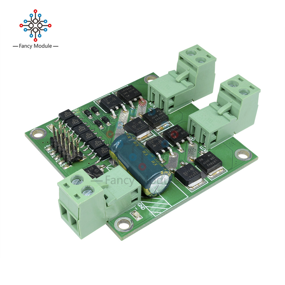 Dual DC Motor Driver Module Bread Board H Bridge L298 Chips Controlled Logic DC 12 -24 V 7 A 160 WDual DC Motor Driver Module Bread Board H Bridge L298 Chips Controlled Logic DC 12 -24 V 7 A 160 W
