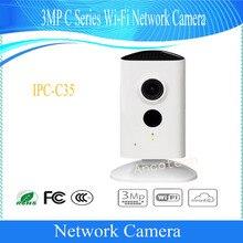 Бесплатная доставка Dahua SE c urity WI-FI Камера 3MP серии C сети Wi-Fi Камера Поддержка ИК без логотипа IPC-C35
