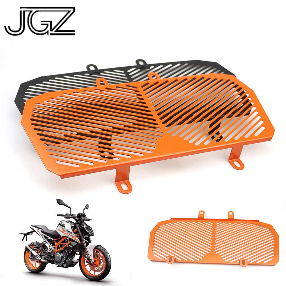 for KTM Duke 390 2013 2014 2015 Duke 125 200 Motorcycle Stainless Steel Radiator Guard Protector Grille Grill Cover Accessories free shipping cnc aluminium chain guard cover for ktm duke 125 200 390