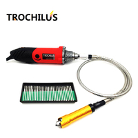 High Quality Electric Tools 240W Mini Grinder Dremel Drilling Machine Multi Function Electric Engraver Tool Set