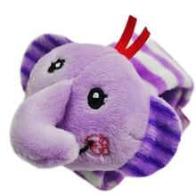 Baby Rattle Wrist Strap Toy 13-24 Months Cartoon Animals Design Super soft Fabric Plush Toys Kids infant Stroller bed bell N25