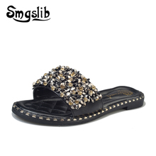 Woman Slides Home Slippers Women Fashion Casual Beach Slippers Sandals 2019 Summer Comfortable Sexy High Heel Slippers women home slides girls beach slippers children floral slippers sandals kids slides casual sandals 2019 summer comfortable
