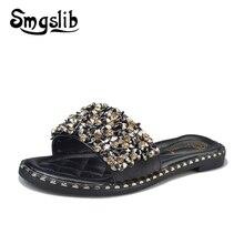 Woman Slides Home Slippers Women Fashion Casual Beach Sandals 2019 Summer Comfortable Sexy High Heel