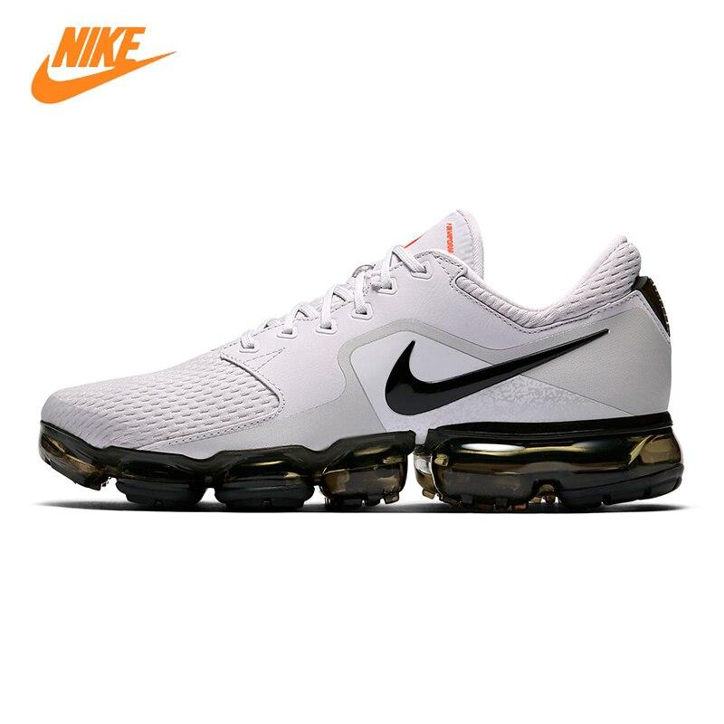 NIKE AIR VAPORMAX 2018 Men's Running Shoes, White & Dark Blue, Wear-resistant Breathable Lightweight AH9046 010 AH9046 401