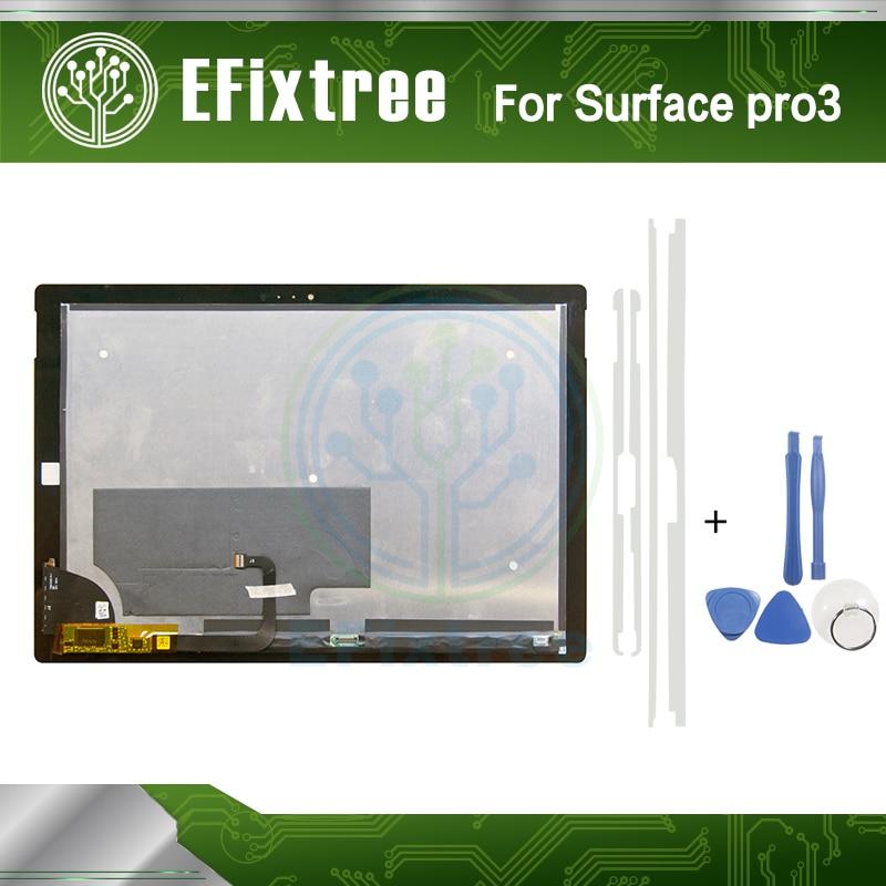 Nueva pantalla LCD de la Asamblea para Microsoft Surface Pro 3 (1631) TOM12H20 V1.1 LTL120QL01 003 pantalla lcd panel digitalizador de pantalla táctil