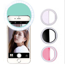 Portable Fill Light 36 LED Ring Camera Enhancing Photography Selfie For Ipad Smart Phone Flash