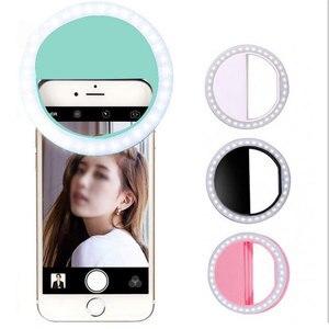 Portable Fill Light 36 LED Ring Light Camera Enhancing Photography Selfie For Ipad Smart Phone Selfie Flash Light