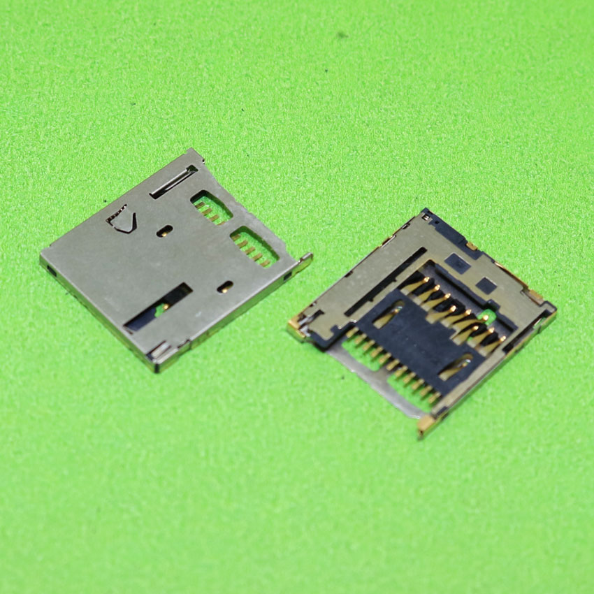 ChengHaoRan 1 Piece For HTC desire D816 SIM Card Reader Holder Tray Slot Connector sim card socket,KA-138
