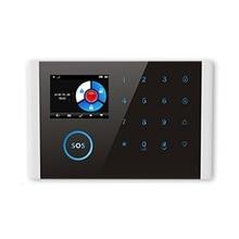 Wifi Gsm Wireless Home Business Burglar Security Alarm System App Control Siren Pir Window Smoke Sensor Doorbell Linkage