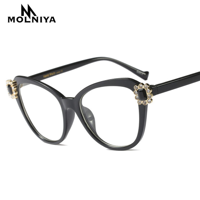 def5beef784 MOLNIYA 2018 Vintage Glasses Frame Men Retro Eyeglasses Ultralight Frames  Women Clear Lens Eyewear Hot Sale Occhiali Miopia