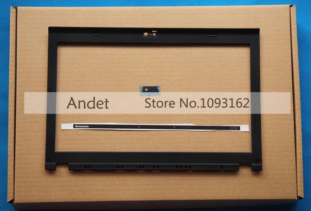 Новый оригинальный lenovo ThinkPad X220 X230 X220I X230I ЖК-дисплей Передняя панель светодиодный индикатор Камера пластина 04W2186 04Y1854