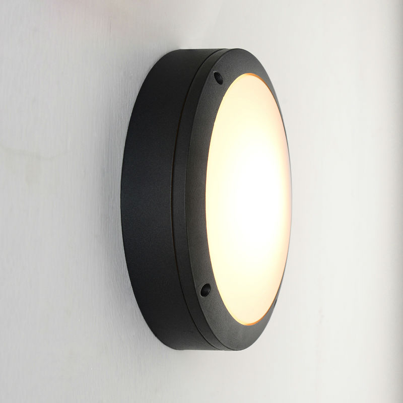 Modern Ceiling lights for bathroom lamp Waterproof IP65 outdoor garden Porch lights Round 220mm light With 1 LED Bulbs 110V 220V silver led 9w acrylic ceiling light with 2 lights chrome finish size 65 65 20cm 85 265v