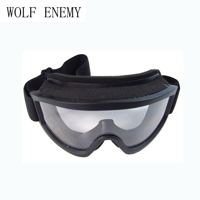 X500 защита глаз Airsoft Защита очки Тактический Пейнтбол Очки ветер пыленепроницаемый мотоцикл, Черный DE