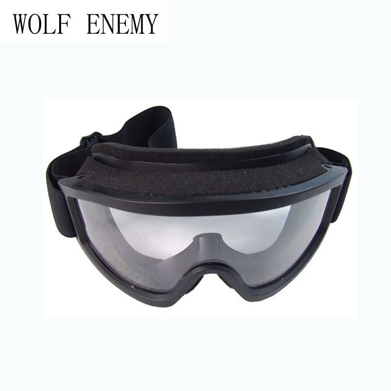 X500 Eye Protection Airsoft Protection Goggles Tactical Paintball Glasses Wind Dust Proof Motorcycle Goggle Black DE