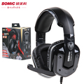 Somic G909 Pro 7.1 Gaming Headphones Noise Canceling FPS Game Headset with Vibration Function With Rotatable MIC for computer